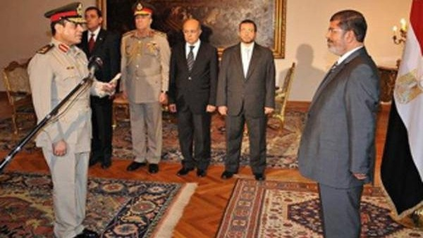 Egyptian soldiers will no longer swear loyalty to president