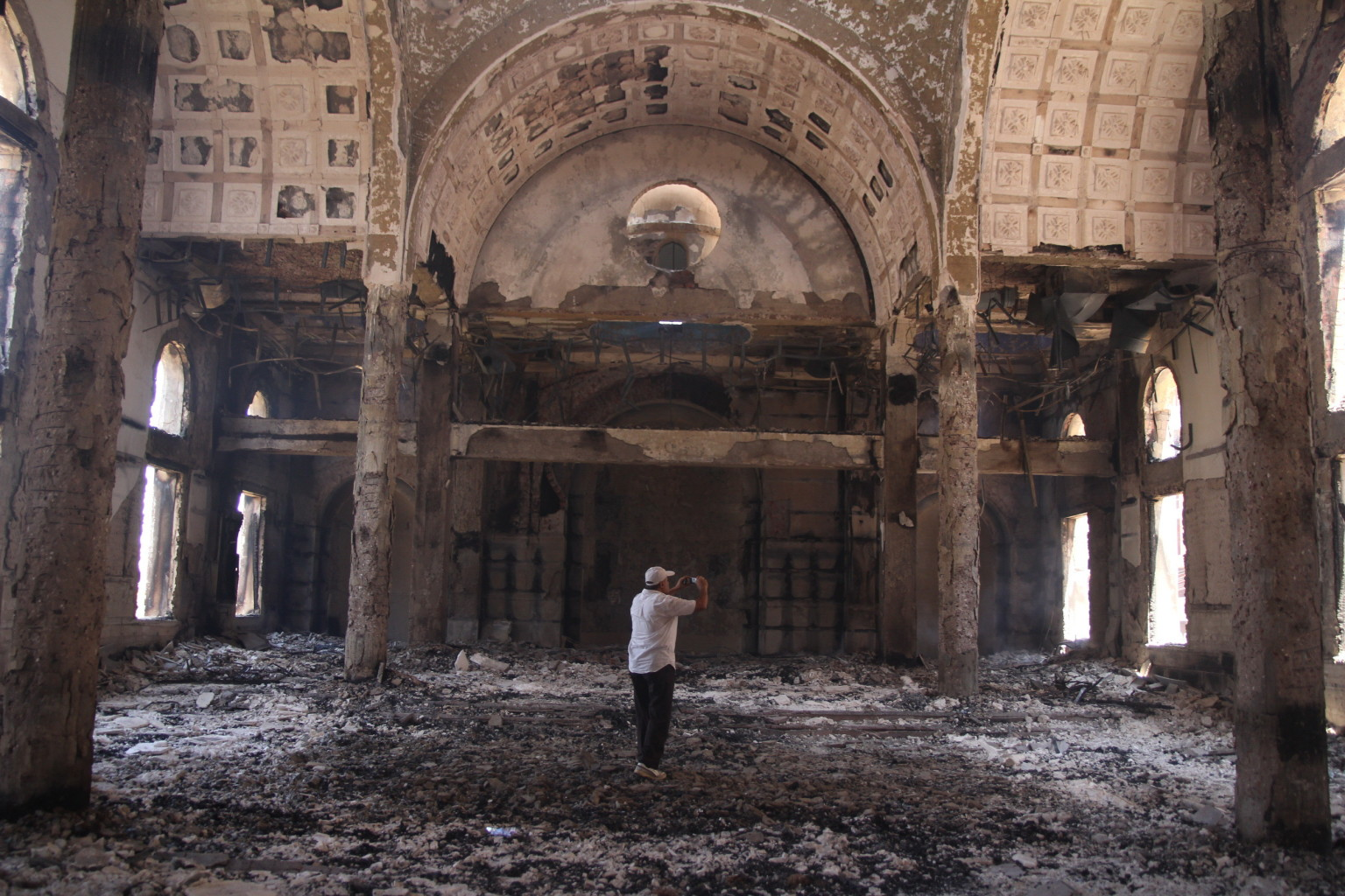 More than 84 Coptic Churches destroyed