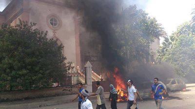 Muslim Brotherhood destroying ancient sites