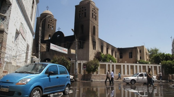 The list of Christian churches, schools, institutions, shops torched