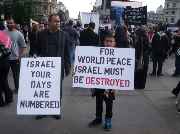 Jews Cannot Coexist with Arabs
