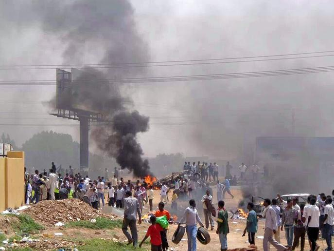Has the Arab Spring finally stretched to Sudan?