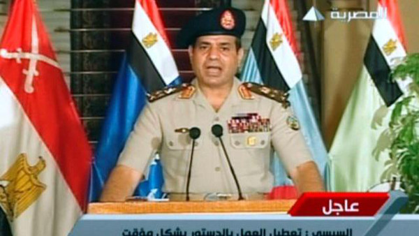 Egyptian army chief Gen. Abdel Fattah al-Sisi File -AFP