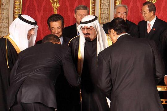 Obama -Saudi king