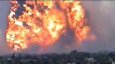 Massive Explosion at Syria Missile Site
