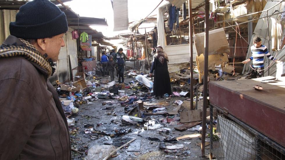 Baghdad: Christmas Bombing Targets Iraqi Christians