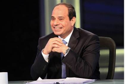 Invitation to President El Sisi of Egypt to address a joint session of the American Congress in the very near future.