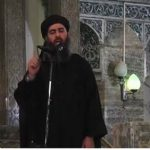Abu Bakr al-Baghdadi makes his first appearance in Mosuls Great Mosque - Reuters