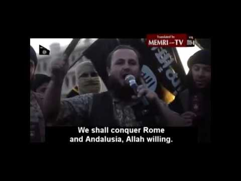 ISIS Promotional Video Vows to 'Conquer Israel, Rome and Spain' (2)