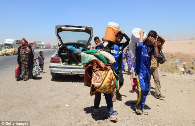 Iraqi Christians Flee for Their Lives