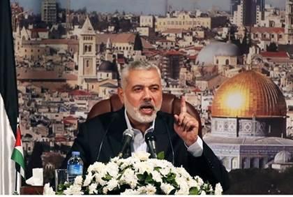 Haniyeh: The Zionist Enemy Started the War