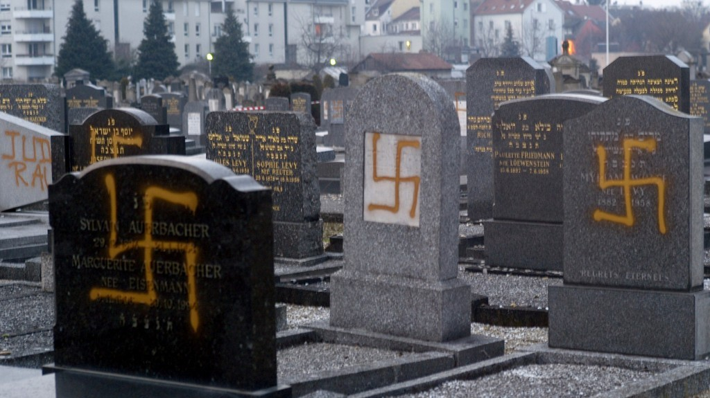 Jews, Get Out of Europe! It's Not for You