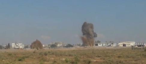 Egyptian Army Destroys 13 Hamas Terror Tunnels