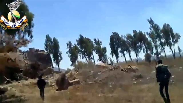 Syrian Jets Hit Rebels