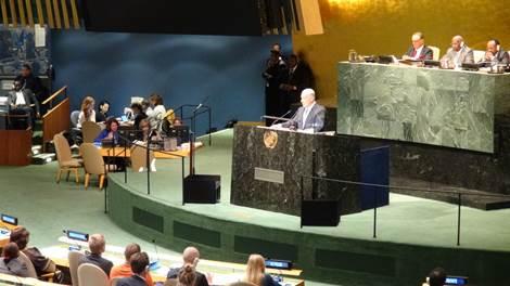 BB in UN 2014