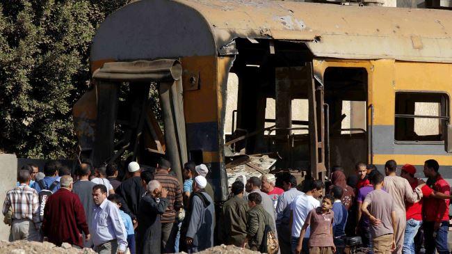 Bomb Explodes Near Train Station - Egypt