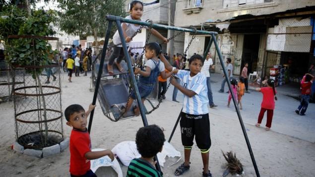 Gaza War Orphans