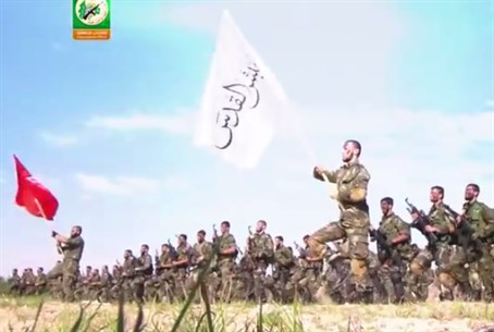 Hamas Shows Off Army 'Ready to Conquer Jerusalem'