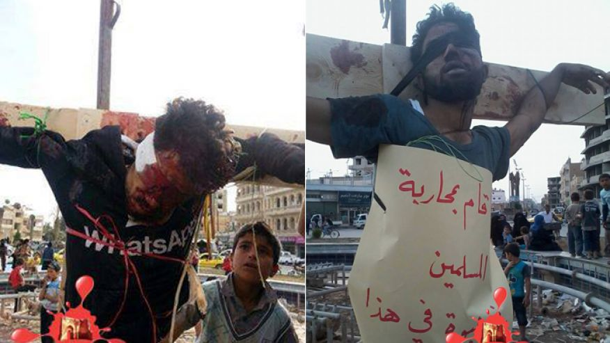 ISIS Shows its Most Popular Execution Style is Crucifixion