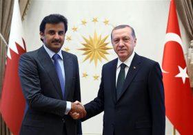 Qatar's Emir meets Erdogan