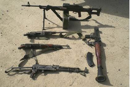 Large Arms Cache