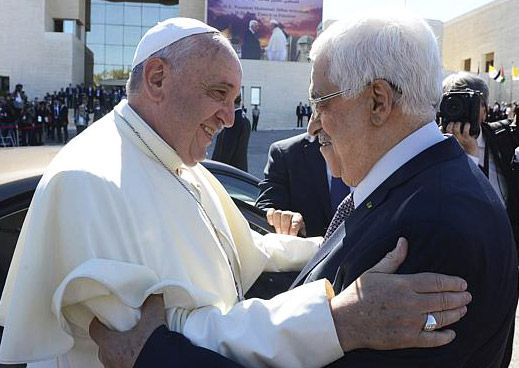 Does Abbas Own The Pope?
