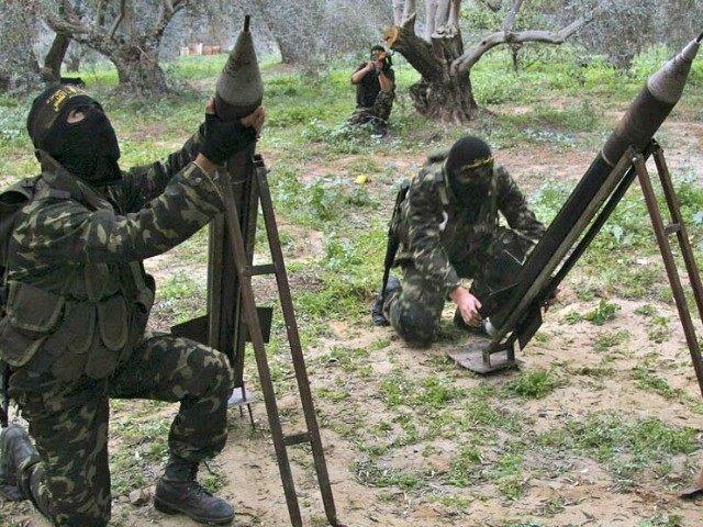 Sinai Terrorists fires rockets