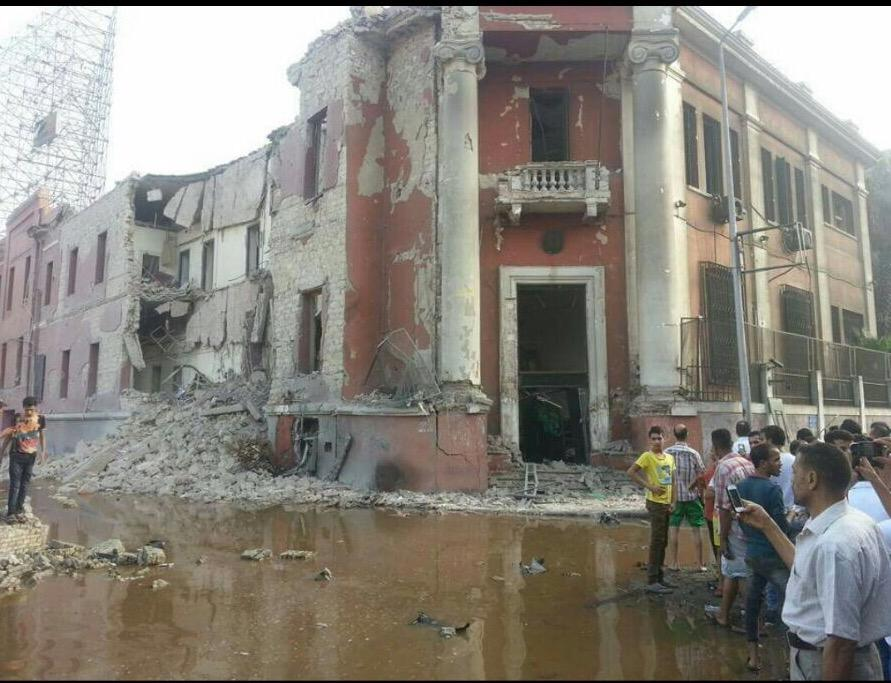 ISIS Bombs the Italian Consulate in Cairo
