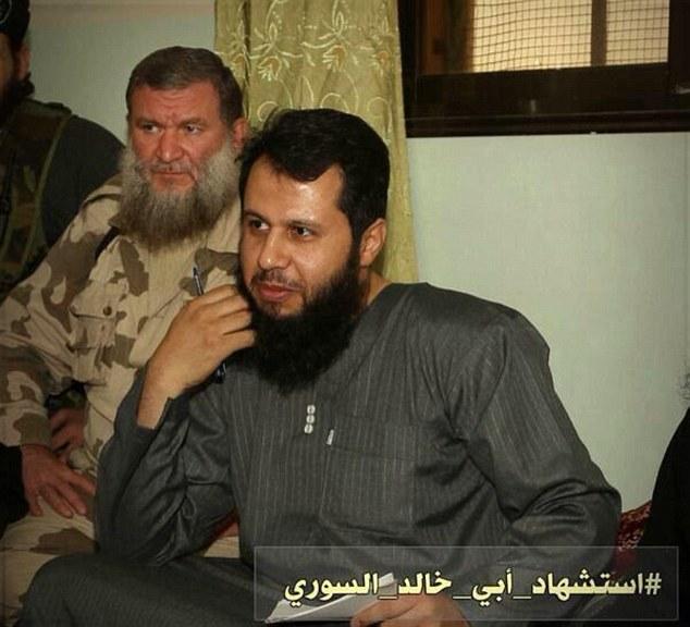 Syrian Rebel Leader abi kaled el sory