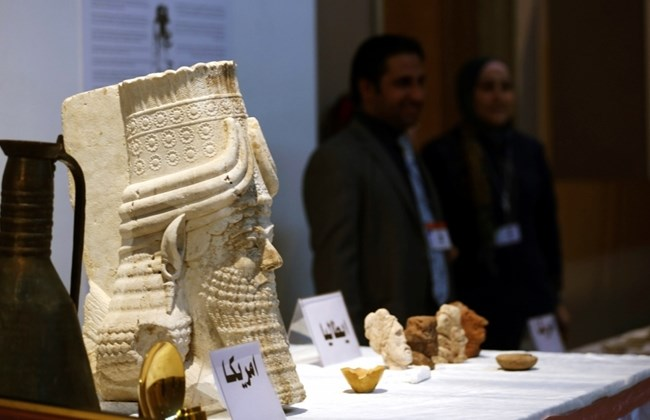 US Returns Hundreds of Iraqi Artifacts