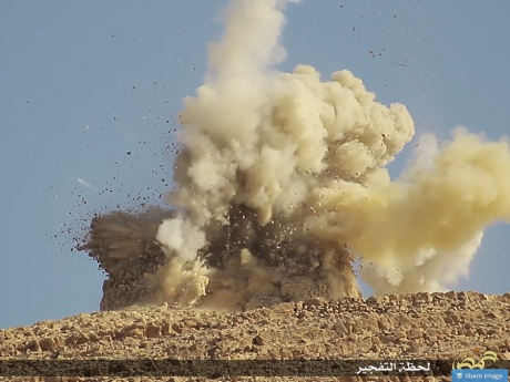 ISIS Destroys Ancient Temple in Palmyra