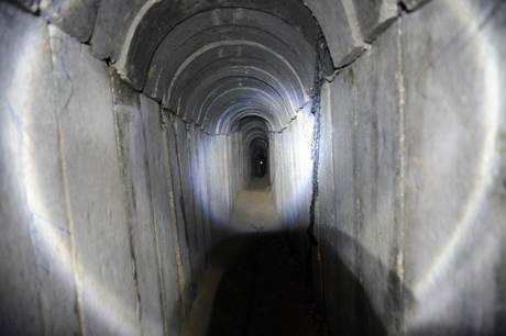 Gaza smuggling tunnel 0