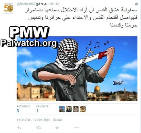 Abbas's Fatah Demanded Jerusalem Terror Day Before Massacre
