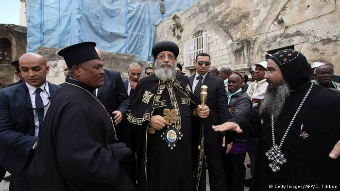 Coptic Popes in Israel