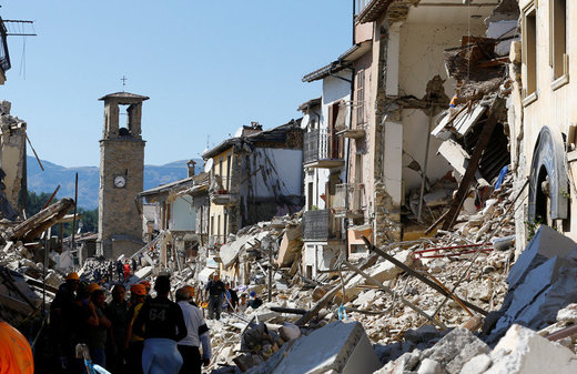 italy quake aftermath