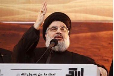Hassan Nasrallah-Reuters