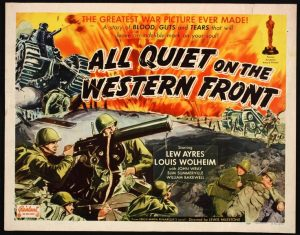 All badly quiet on the Western Front