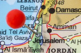 Jerusalem, capital of Israeli - Stock