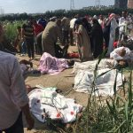 Dozens killed in train collision in Egypt