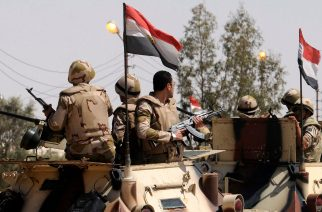 Egyptian military in Sinai