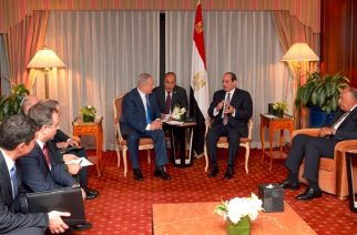 Netanyahu meets with Al-Sisi -GPO