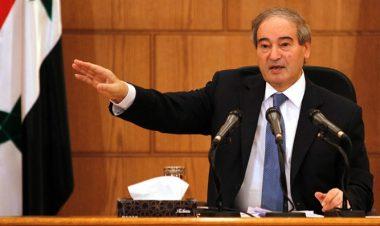 Syria's Deputy Foreign Minister, Faisal Mekdad -Reuters