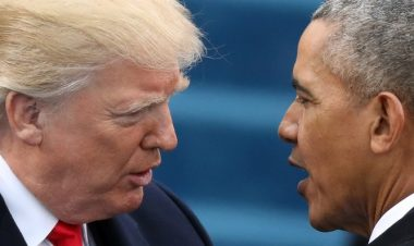 Trump and Obama -Reuters
