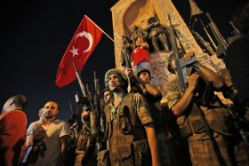 42 Turkish soldiers found guilty of trying to kill Erdogan
